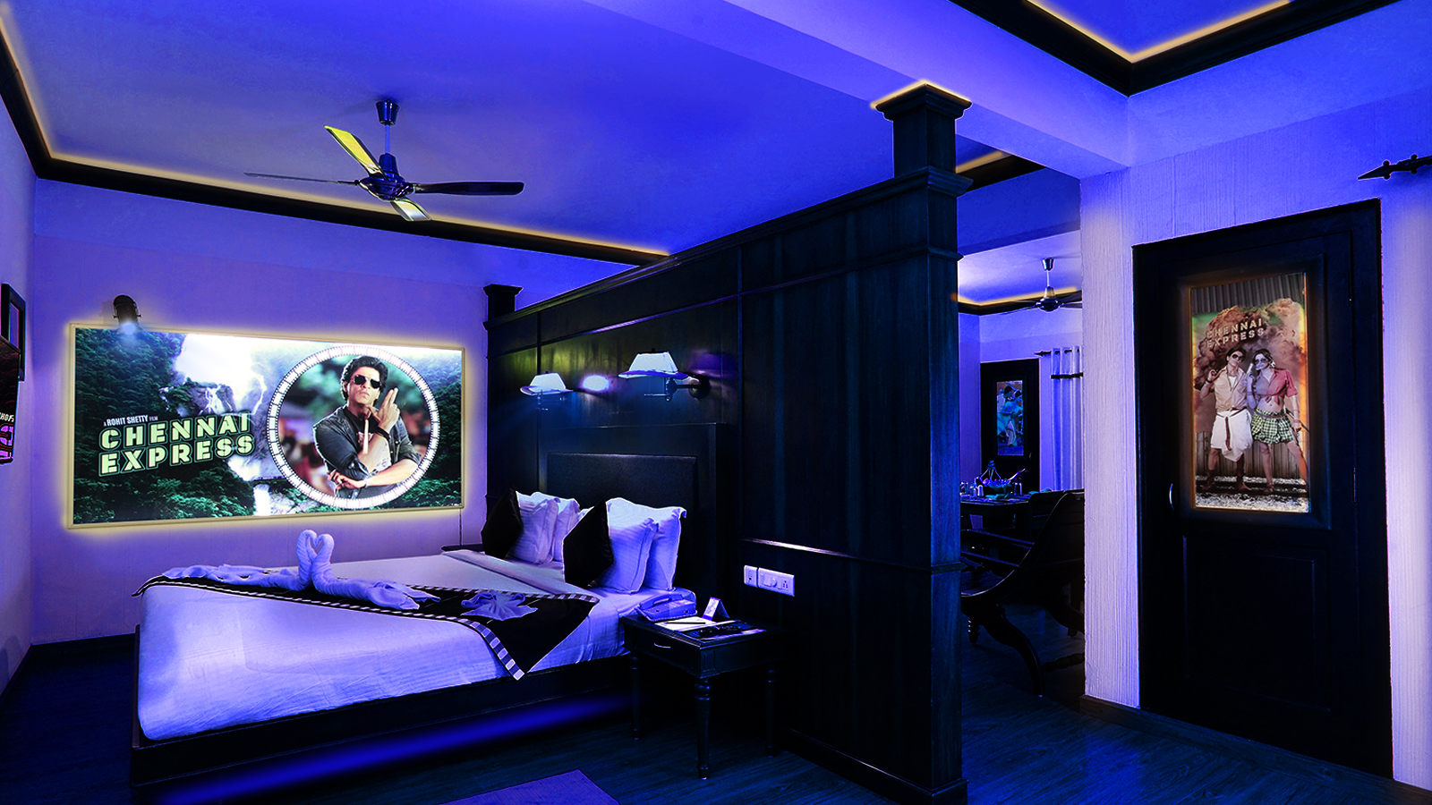 Movie themed bedroom-kerala